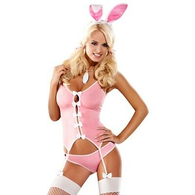Obsessive Bunny Suit Costume Gr. S / M Sexy Hasen Kostüm Rosa  53