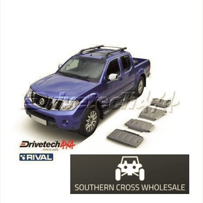 UNDER BODY ARMOUR KIT- for Nissan Navara D40 (2005-16) and Nissan Pathfinder ...