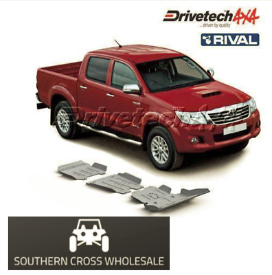 UNDER BODY ARMOUR KIT-forToyota Hilux KUN26 (2007-15)-- DT-UBA07