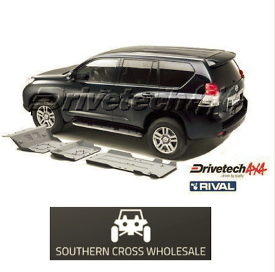 UNDER BODY ARMOUR KIT- for Toyota Landcruiser Prado 150 Series (2009-16)--DT-...