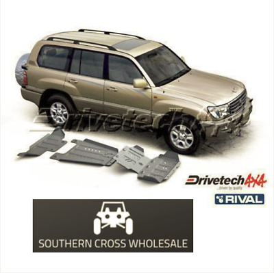 UNDER BODY ARMOUR KIT- for Toyota Landcruiser 100 Series - IFS petrol (2002-0...