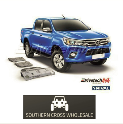 UNDER BODY ARMOUR KIT- forToyota Hilux GUN126 Series (2015-on)--DT-UBA17