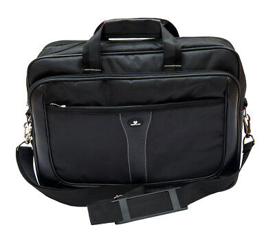"13.3"" - 15.6"" Executive Laptop Messenger Shoulder Bag Briefcase Business Travel"