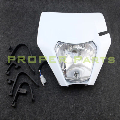 Motorcycle Dirt Bike Motocross Supermoto Universal Headlight For KTM SX EXC XCF