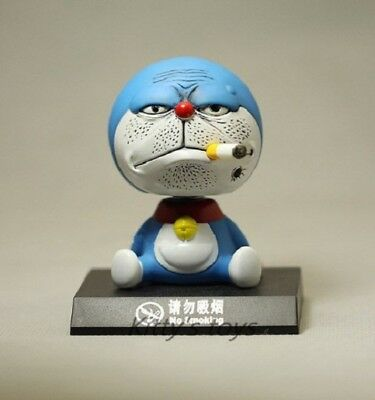 HOT cartoon doraemon no smoking PVC Figures cats doll anime collection toy new