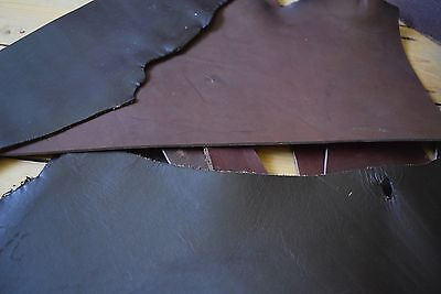 VEG TAN LEATHER 1.5MM THICK NATURAL CRAFT TOOLING LEATHER  SMALL OFFCUTS