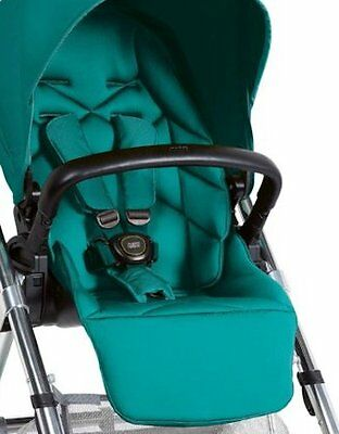 Mamas & Papas TEAL URBO2 URBO SOLA 2 ZOOM GLIDE Pushchair SEAT HARNESS PADS New