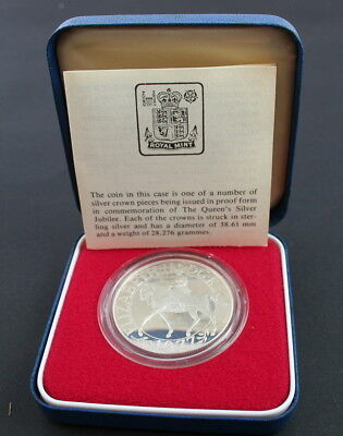 1970s Royal Mint Crown Coins - Sterling Silver Proof & Silver Piedfort Proof