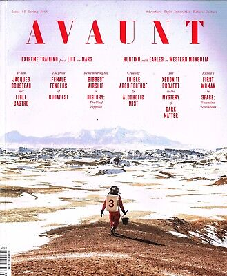 AVAUNT Magazine 3 Spring 2016 ERLING KAGGE Ali Bin Thalith JACQUES COUSTEAU excl