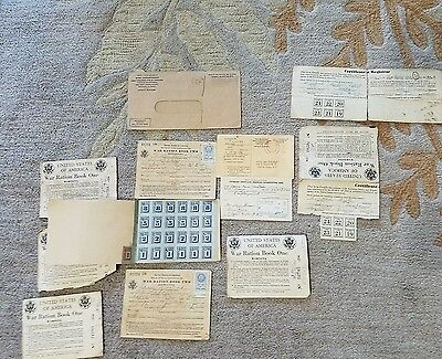 War Ration Books & stamps Read (fil)
