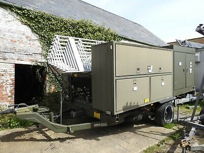 Mw Am Broadcast Mobile Trailer Antenna System
