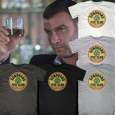NEW Ray Donovan Donovans Hollywood Fite Club Official Best Tshirt Athletic Fit