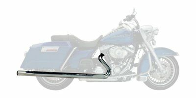 Supertrapp Mean Mothers Slip-On Mufflers Stainless Steel For H-D FLHT FLHR