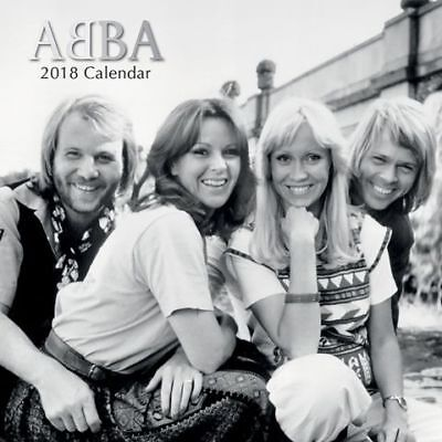 Abba 2018 Wall Calendar by the Gifted Stationery, NEW, Free Post