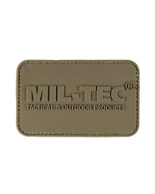 Patch 3D Mil-Tec® PVC m. Klett, Camping, Outdoor, Military   -NEU-
