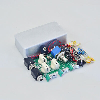 DIY  Analog Delay-1 Effects Pedal All  kits With 1590B Pedal Box free shipping