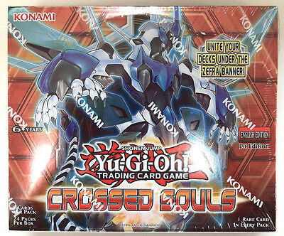 Yu-Gi-Oh! Yugioh Crossed Souls Factory Sealed English Booster Box (1st Edition)
