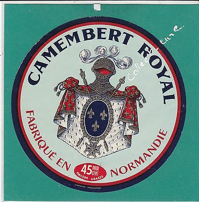H6 Fromage Camembert Royal Normandie  Embleme Lys