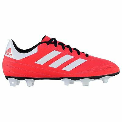 adidas Goletto FG Firm Ground Football Boots Mens Red Soccer Cleats Shoes