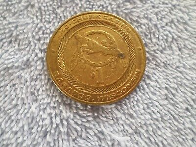 Ho-Chunk Casino - Baraboo Wisconsin - One Dollar Gaming Token