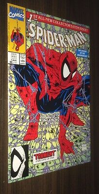 SPIDER-MAN #1 -- Todd McFarlane -- Torment -- Classic Cover -- NM- Or Better