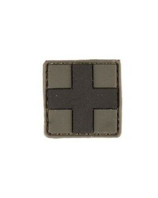Patch 3D First Aid PVC m. Klett small, Camping, Outdoor, Military -NEU