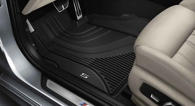 Genuine BMW 5 Series G30 Floor Mats Front + Rear All Weather RHD 51472414220