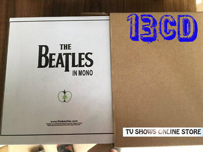 OFFER The Beatles In Mono Box Set 13CD Disc White Limited Edition Brand New