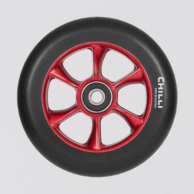 Chilli Pro Turbo Wheel 110mm Black/Red