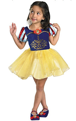 NEW Disguise Disney Snow White Toddler Costume- M(3T-4T)