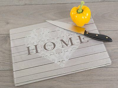 Home Glass Kitchen Chopping Board Cutting Worktop Saver Side Surface Protector
