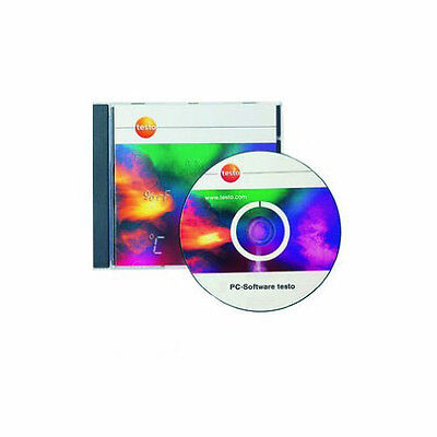 Testo 0554 1704 Comsoft Professional Pro Software with Data Archiving