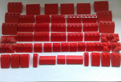 Lego Red Roof Tiles