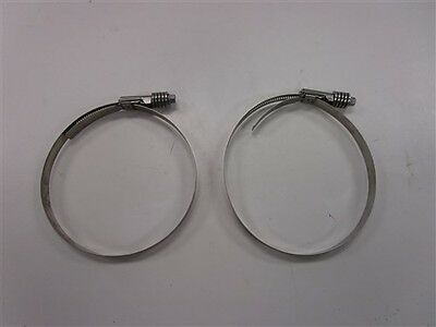 """PINCH HOSE CLAMP STAINLESS STEEL 23448  FITS 1-1//4/"""" 31.6MM OD BAND 9//32/"""" PAC 10"""