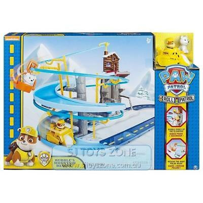 Paw Patrol Rubble's Mountain Rescue Track Activity Playset Christmas Toy For Kid