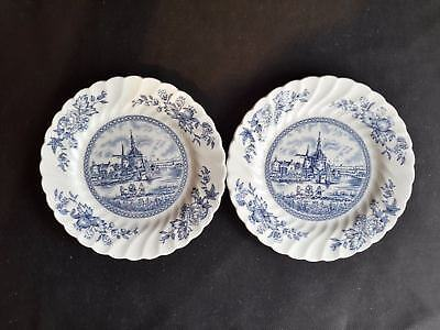 Johnson Brothers Tulip Time  Set of 2 Bread & Butter Plates