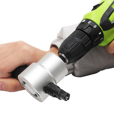 Ultimate Handheld Nibbler dabdeal Metel Cutting Double Head Drill Cutter Tool