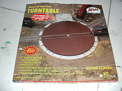 Atlas Ho Manual Turntable  17 Positions Fully Indexed