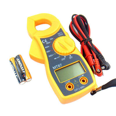 Digital Multi-meter Multi-metro Clamp Auto Range Voltage Ampere Meter Tester