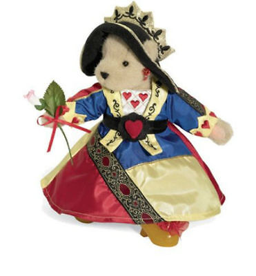 """Muffy Vanderbear Limited Edition Queen Of Hearts Plush Teddy Bear NABCO 8"""""""