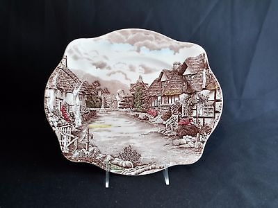 Johnson Brothers Olde English Countryside  Oval Serving Platter 11""