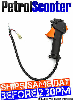 Mutitool Petrol Throttle Handle Kill Switch Multi Tool Strimmer BrushCutter 26mm