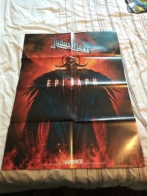 Judas Priest / Arch Enemy Double-Sided Poster