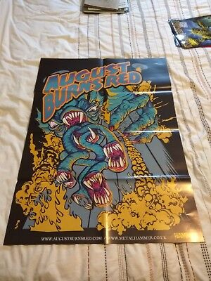 Manowar / August Burns Red Double-Sided Poster