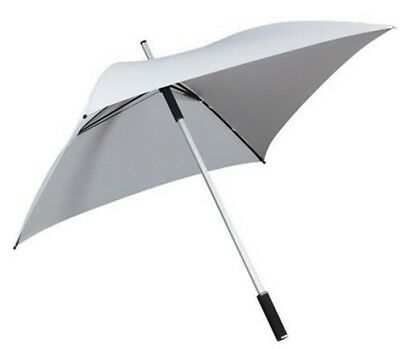 White Square Umbrella. Windproof Technology Fashion Umbrella