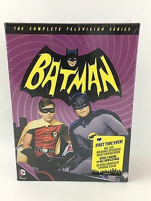 Batman The Complete Tv Series New Sealed 18-Disc-Box-Set Dvd Free Shipping