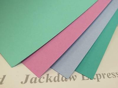 12 x A4 Craft Board Card backing/Mount 800mic 4 Colours to Choose Arts Crafts