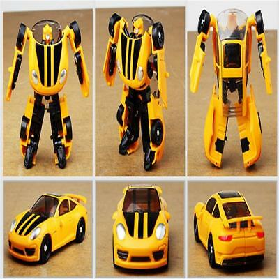 Pop Transformers Toy Car Changes In To Robot Action Figure For Kids Baby JAZZ