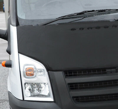 Black Front Bonnet Bra / Protector To Fit Ford Transit (2006-13)