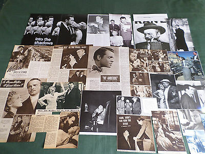 Orson Welles  - Film Star - Clippings /cutting Pack